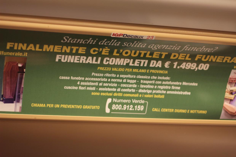 Outlet del funerale