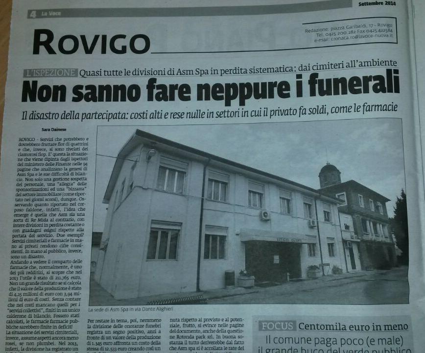 funerali pubblici