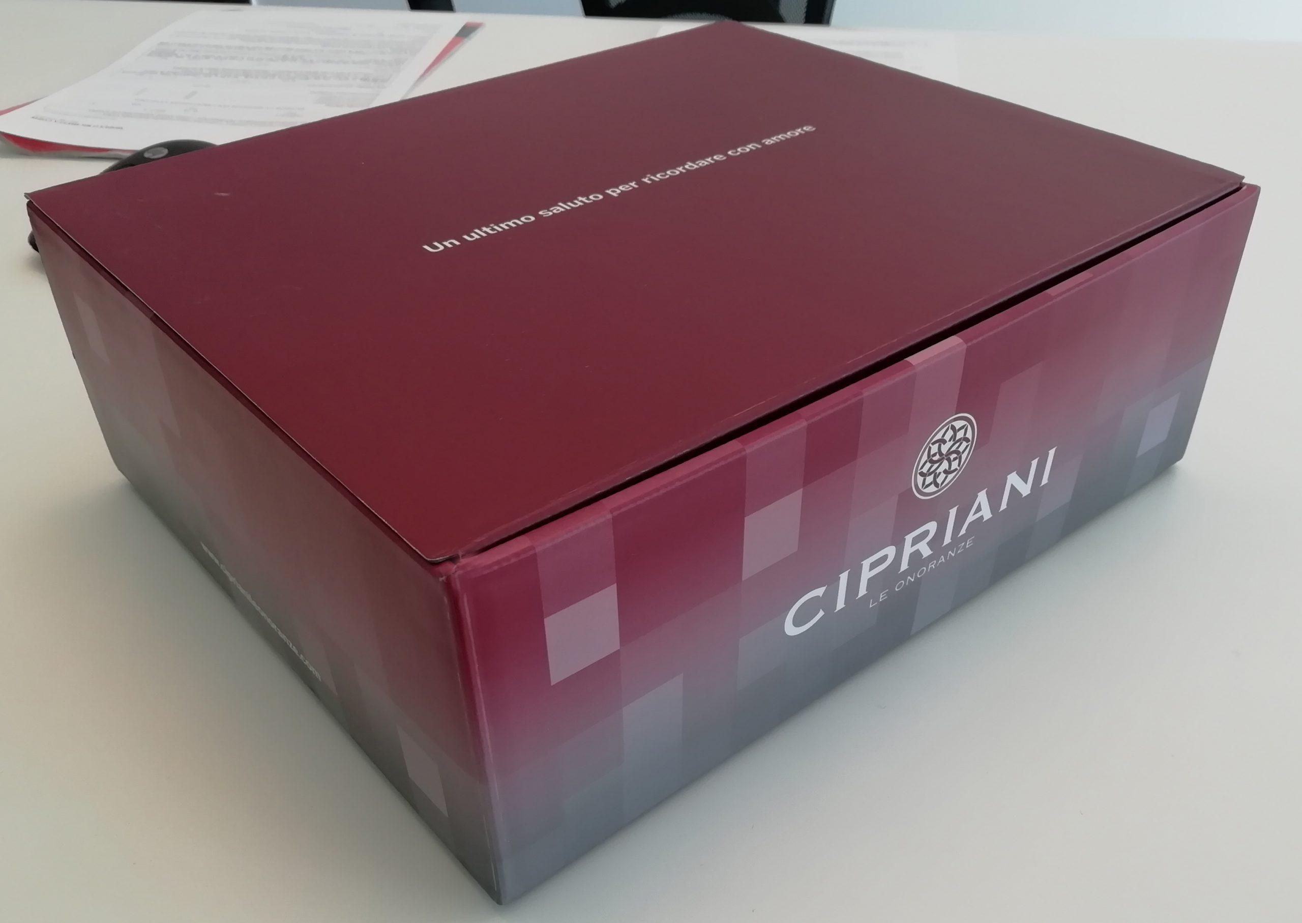 scatola cipriani